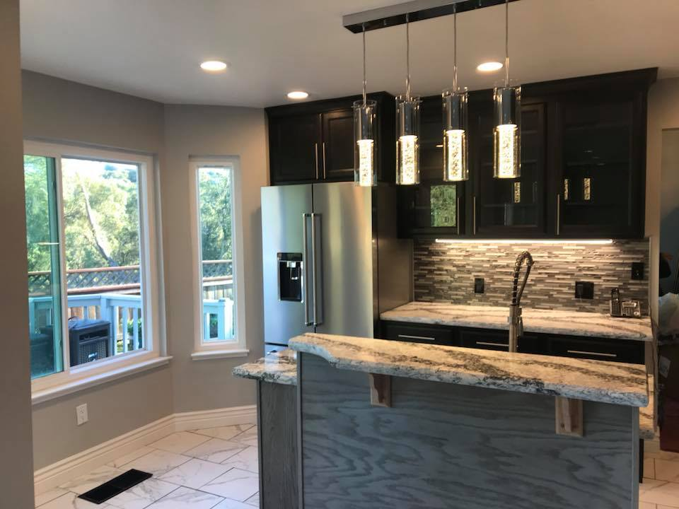modern kitchen remodel antioch