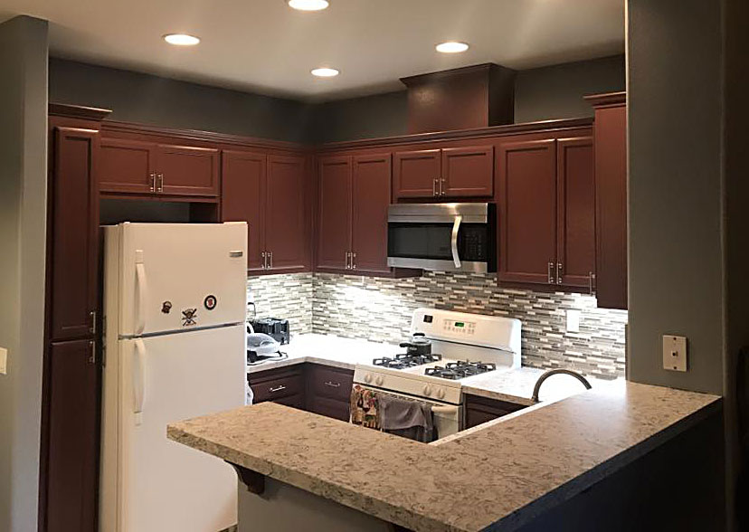 kitchen renovated by general contractor in Antioch, CA